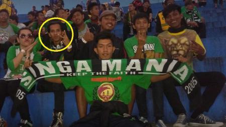 Rian Nopriansyah yang diduga mengeroyok suporter Sriwijaya FC, dia di dalam penjara dan divonis 8 tahun - INDOSPORT