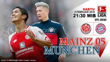 Prediksi Mainz 05 vs Bayern Munchen - INDOSPORT