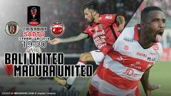 Indosport - Prediksi Bali United vs Madura United.