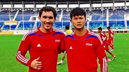 Dedi Gusmawan saat bermain di klub Zayar Shwe Myay FC Liga Myanmar - INDOSPORT