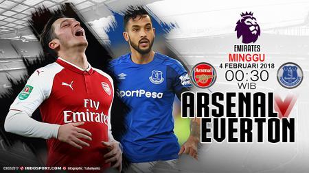 Prediksi Arsenal vs Everton - INDOSPORT