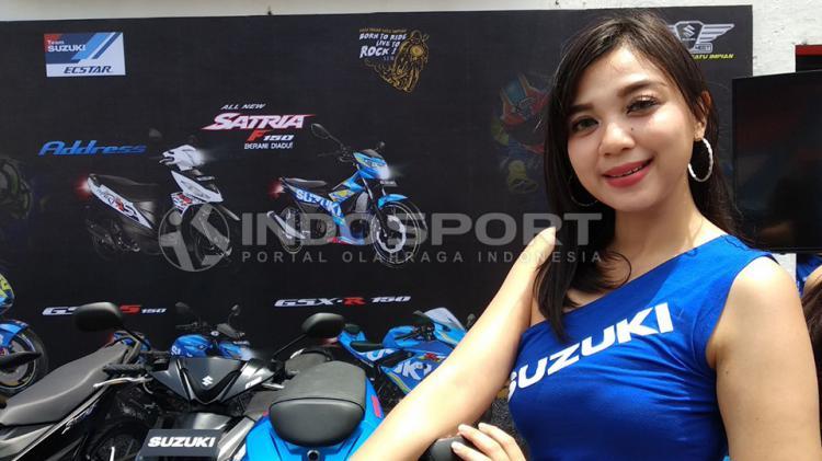 SPG di Suzuki Bike Meet Jamboree Nasiononal 2018. Copyright: Juni/INDOSPORT