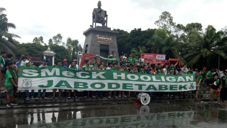 SMeCK Hooligan siap mendukung PSMS Medan di Solo Copyright: Istimewa