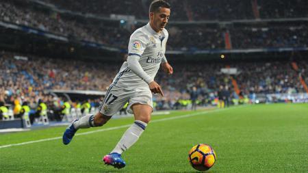Lucas Vazquez mencetak gol - INDOSPORT
