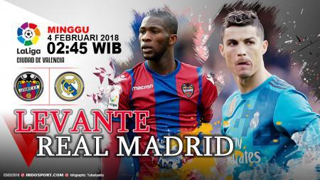 Prediksi Levante vs Real Madrid - INDOSPORT