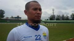 Indosport - Pemain bertahan Persib Bandung, Supardi Nasir
