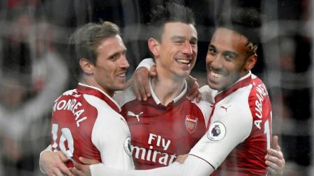 Bintang Real Sociedad, Nacho Monreal senang dirinya bisa meninggalkan klub Liga Inggris, Arsenal, yang saat ini jadi terpuruk. - INDOSPORT