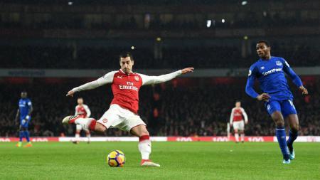 Gelandang Arsenal Henrikh Mkhitaryan. - INDOSPORT
