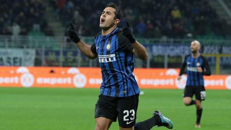 Eder, mantan striker Inter Milan asal Italia yang punya darah Brasil. - INDOSPORT