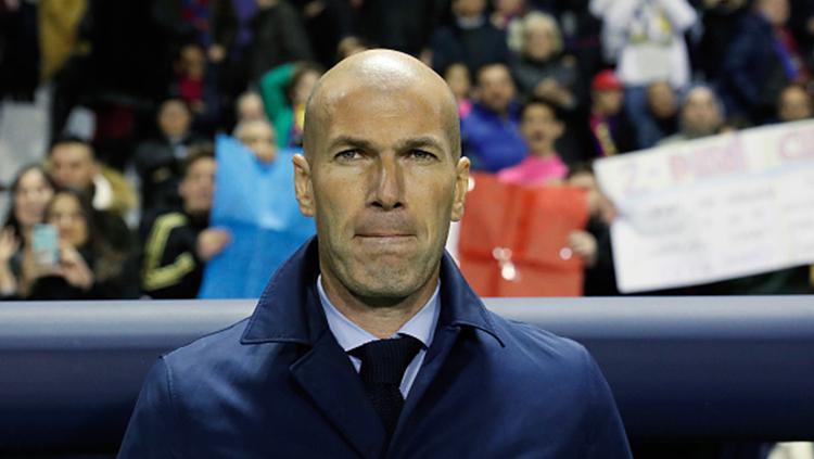 Zinedine Zidane Copyright: INDOSPORT