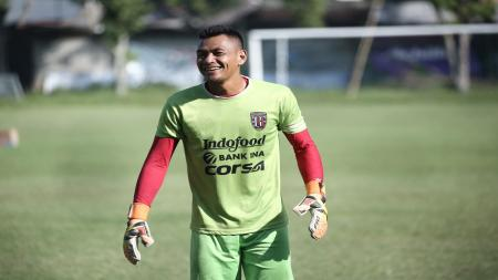 Wawan Hendrawan, kiper Bali United. - INDOSPORT