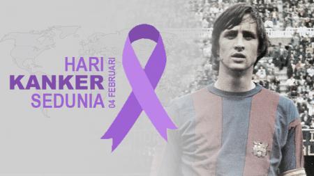 Deretan pesepakbola meninggal mengalami kanker, salah satu satunya Johan Cruijff. - INDOSPORT