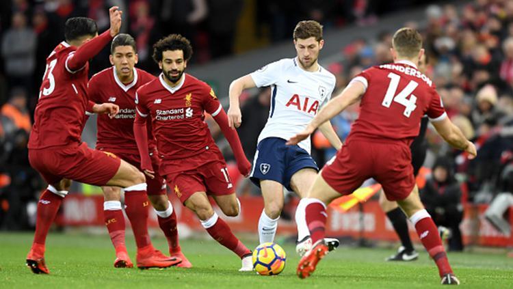 Liverpool vs Tottenham Hotspurs Copyright: INDOSPORT