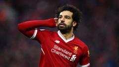 Indosport - Mohamed Salah pemain Liverpool FC.