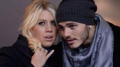Indosport - Wanda Nara dan Mauro Icardi.