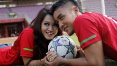 Indosport - Gunawan Dwi Cahyo dan Okie Agustina.