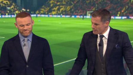 Wayne Rooney dan jamie Carragher - INDOSPORT