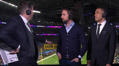 Southgate dalam gelaran Super Bowl - INDOSPORT