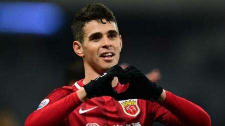 Oscar bermain untuk klub China - INDOSPORT