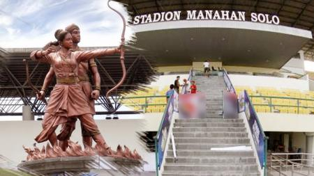 Stadion Manahan Solo. - INDOSPORT