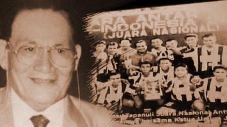 Tumpal Dorianus Pardede, pendiri klub sepakbola Pardedetex. - INDOSPORT