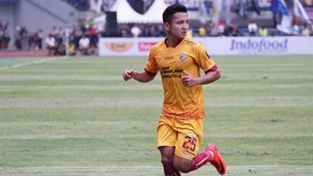 Gelandang Sriwijaya FC, Syahrian Abimanyu akan menjalani operasi. - INDOSPORT