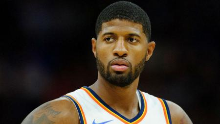 Paul George disebut bakal debut lawan New Orleans Pelicans di NBA. - INDOSPORT