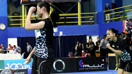 Ganda putri Indonesia, Della Destiara Haris/Rizki Amelia Pradipta. - INDOSPORT