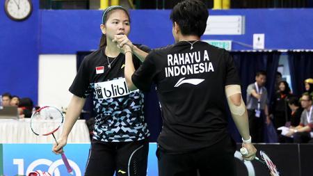 Ganda putri Indonesia, Greysia Polii dan Apriani Rahayu. - INDOSPORT