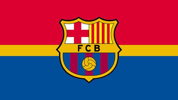 Logo Barcelona. Copyright: Grafis: Eli Suhaeli/INDOSPORT