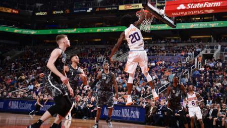 Pheonix Suns vs Antonio Spurs. - INDOSPORT
