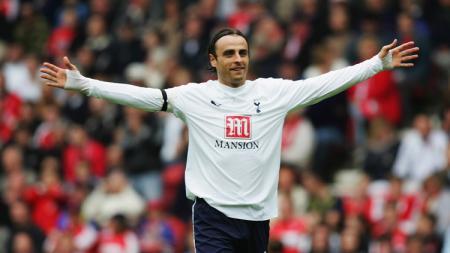 Dimitar Berbatov saat berseragam Tottenham. - INDOSPORT
