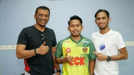 Andik Vermansah (tengah) resmi gabung Kedah FA. - INDOSPORT