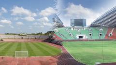 Indosport - Stadion Darulaman (kiri) dan Stadion Shah Alam.