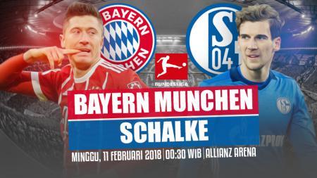 Bayern Munchen vs Schalke 04. - INDOSPORT