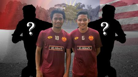 Ilham Udin dan Evan Dimas. - INDOSPORT