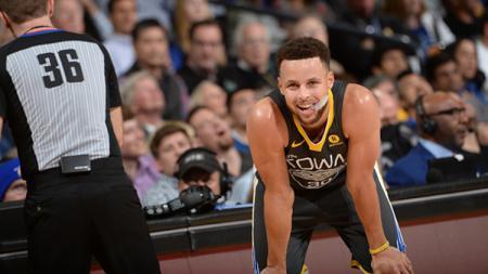 Bintang NBA,  Stephen Curry.. - INDOSPORT