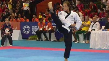 Mike Pejic Menjadi Juara Taekwondo Setelah Pensiun Dari Dunia Sepak Bola - INDOSPORT