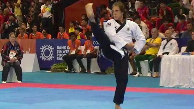 Taekwondo, Mike Pejic. Copyright: Istimewa