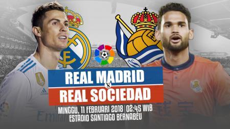 Real Madrid vs Real Sociedad. - INDOSPORT