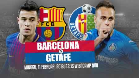Barcelona vs Getafe. - INDOSPORT