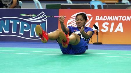 Pebulutangkis tunggal putri Indonesia, Gregoria Mariska Tunjung. - INDOSPORT