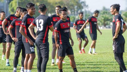 Andik Vermansah latihan perdana bersama Kedah FA.