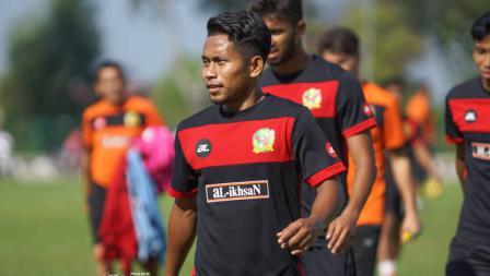Latihan perdana Andik Vermansah bersama Kedah FA.