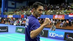 Indosport - Pebulutangkis tunggal putra Indonesia, Jonatan Christie.
