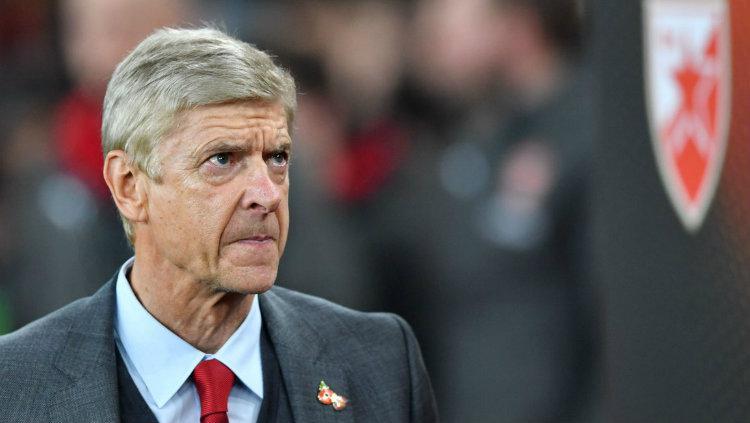 Manajer Arsenal Arsene Wenger. Copyright: INDOSPORT