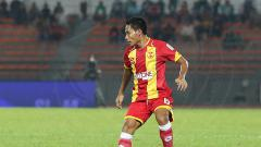 Indosport - Gelandang Selangor FA Evan Dimas Darmono.