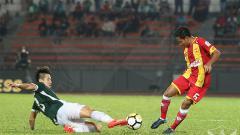 Indosport - Gelandang serang Selangor FA Evan Dimas Darmono.