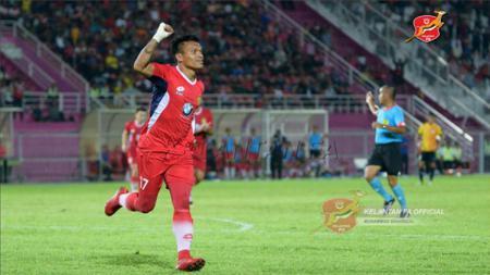 Striker Kelantan FA Ferdinand Sinaga. - INDOSPORT