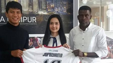 Ahmad Jufriyanto berseragam Kuala Lumpur FA - INDOSPORT